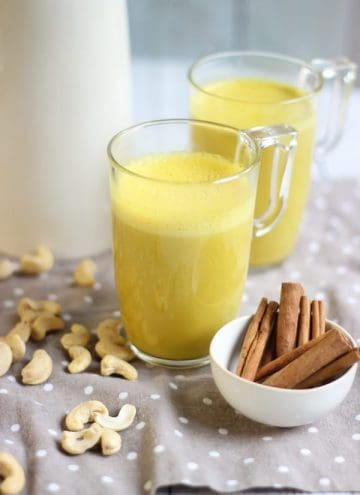 Golden latte au curcuma