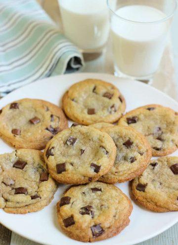 Cookies aux pépites de chocolat maison