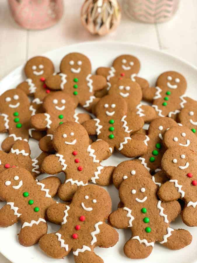 Gingerbread man, bonshommes en pain d'épices