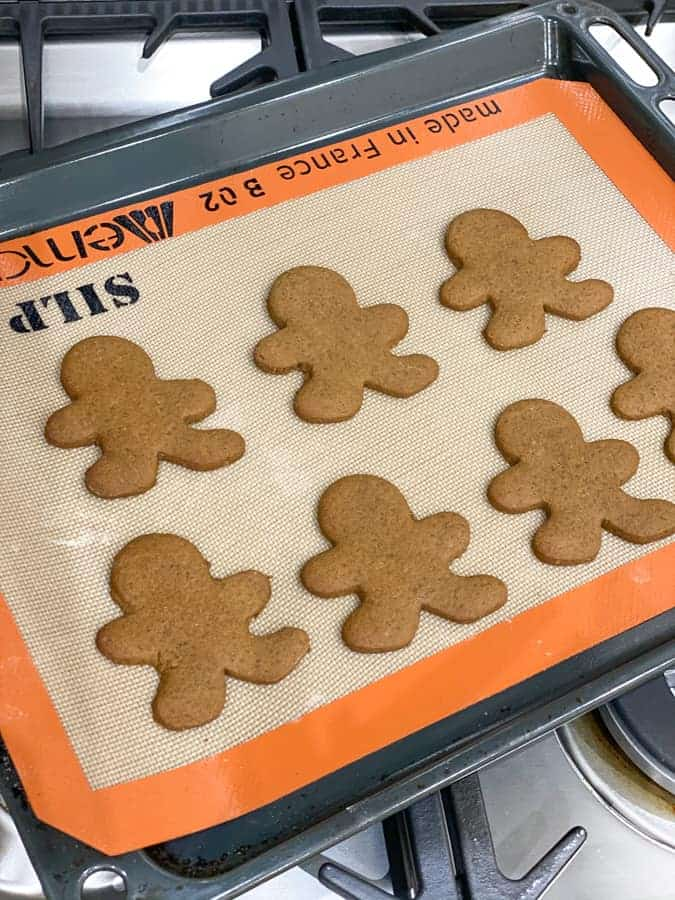 Recette gingerbread man cookies